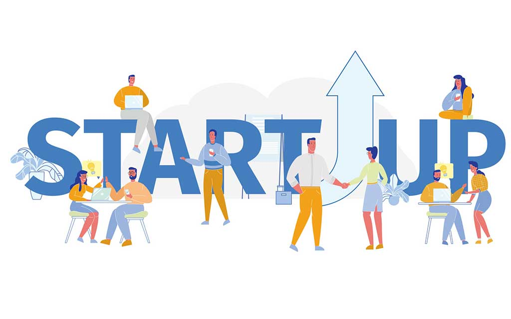 startup vector - how to create a startup