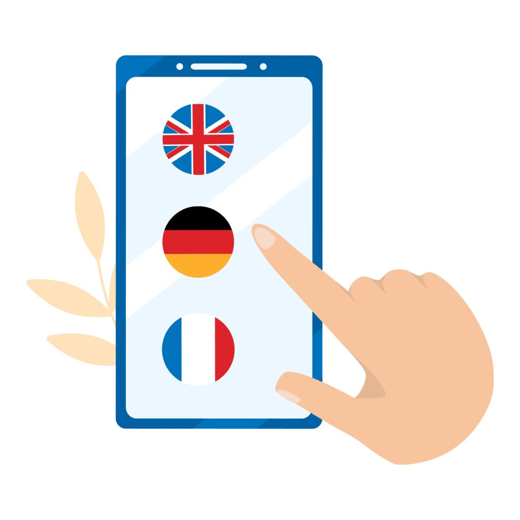 Language translation app
