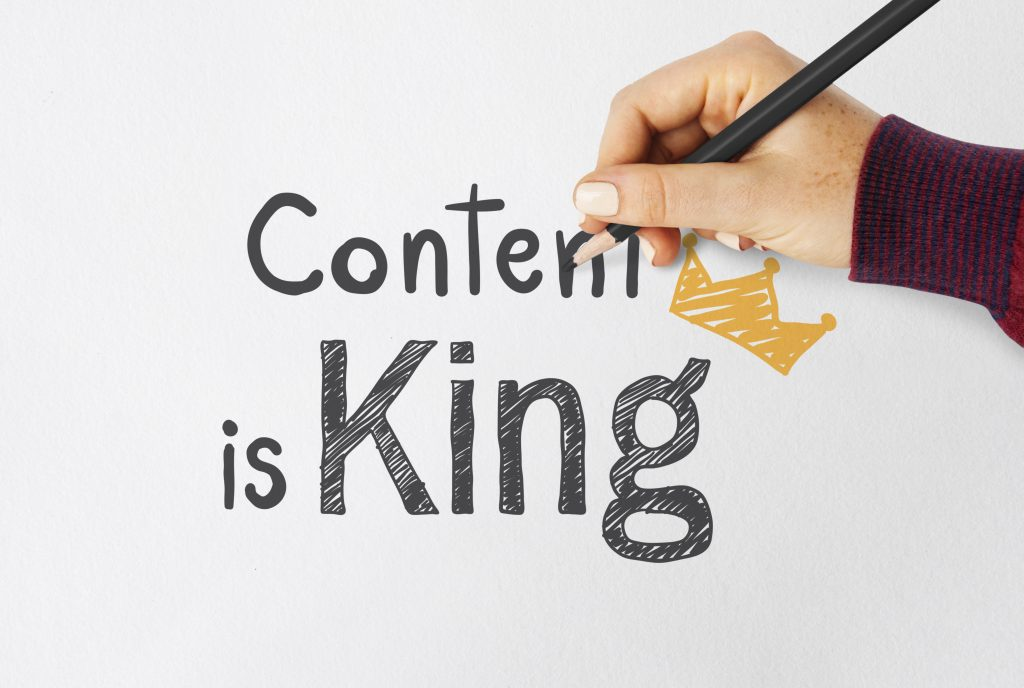 content is king seo