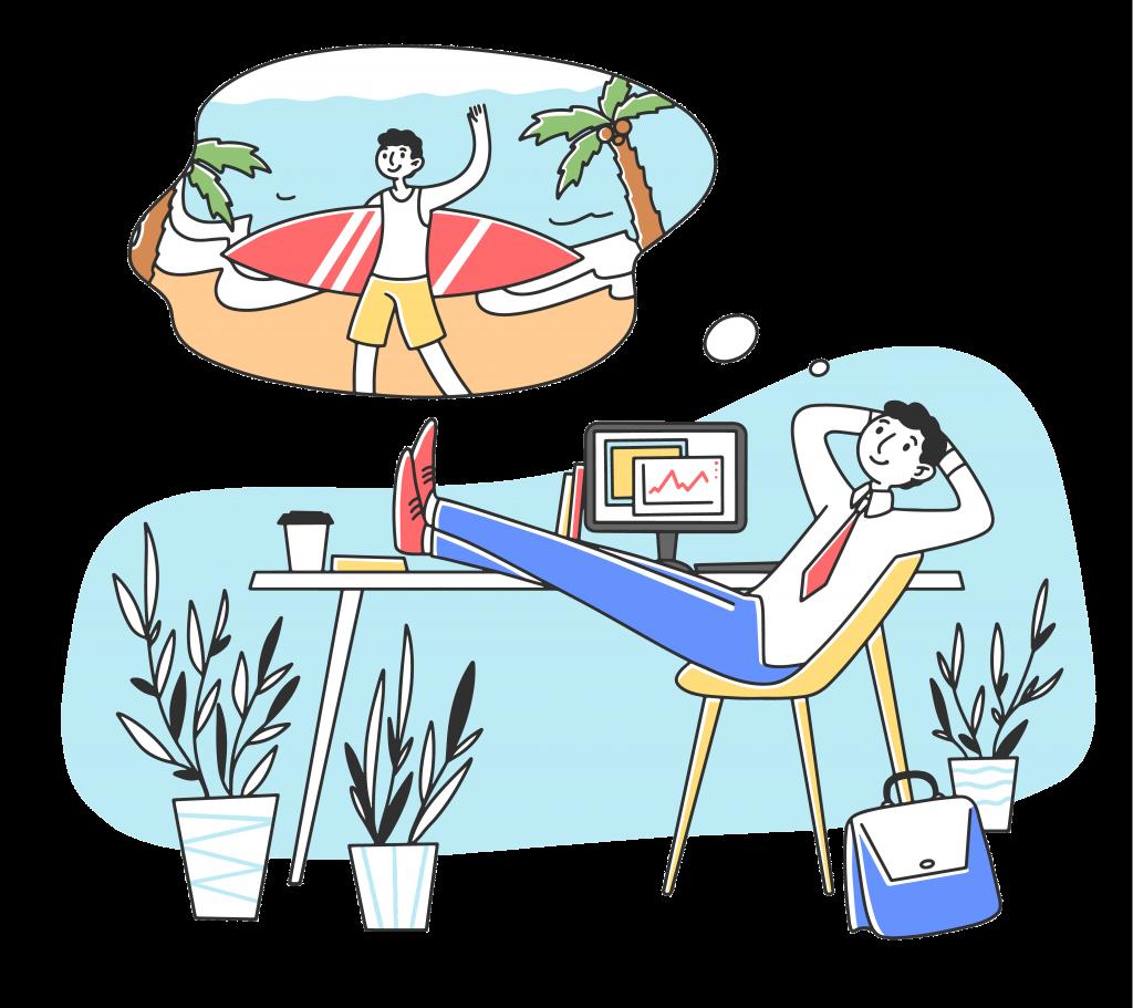 employee's productivity